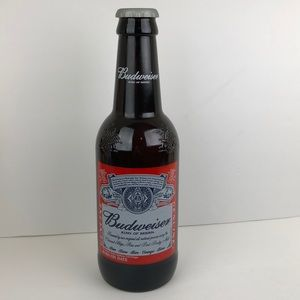 Budweiser King of Beers Large Prop Glass Bottle
